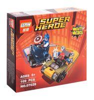 "Конструктор Super Heroe ""Капитан Америка против Красного Черепа"""