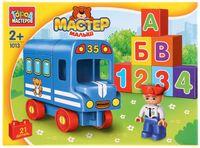 "Конструктор ""Мастер малыш. Автобус"" (21 деталь)"