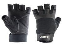 Перчатки для фитнеса (M; чёрные; арт. PL6051M)