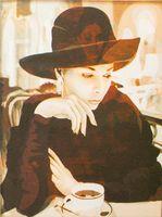 """Картина по номерам """"Мадам"""" (400x500 мм; арт. MG069)"""