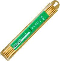 Спицы для вязания чулочные (бамбук; 5 мм; 5 шт)