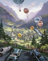 """Пазл """"Янг. Воздушные шары"""" (2000 элементов)"""