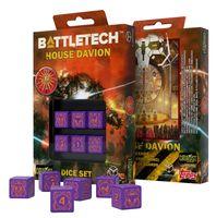"""Набор кубиков D6 """"Battletech. House Marik"""" (6 шт.; фиолетовый)"""