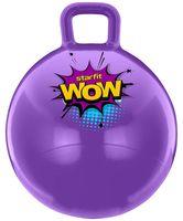 """Мяч-попрыгун """"GB-0402 WOW"""" 55 см (с ручкой; фиолетовый)"""