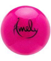 Мяч для художественной гимнастики AGB-203 (15 см; розовый)