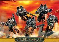 "Набор миниатюр ""Warhammer 40.000. Finecast: Chaos Space Marines Raptors"""