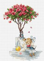 "Вышивка крестом ""Розы"" (180х265 мм)"