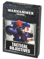Warhammer 40.000. Tactical Objective Cards (40-20-60)