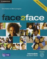 Face2Face. Intermediate. Student`s Book (+ DVD)