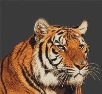 """Вышивка крестом """"Тигр"""" (305х230 мм)"""
