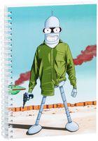 """Блокнот в клетку """"Futurama"""" (А5; арт. 004)"""