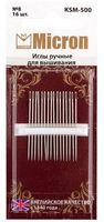 Иглы для вышивания (16 шт.; арт. KSM-500)