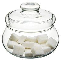 Сахарница стеклянная (500 мл)