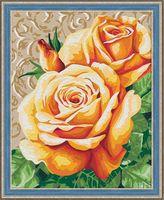"Картина по номерам ""Чайные розы"" (400х500 мм)"