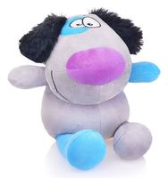 """Мягкая игрушка """"Пес Егорка"""" (25 см; серый)"""