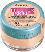 """Тональный крем для лица """"Fresher Skin"""" тон: 201, classic beige"""