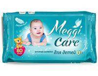 """Влажные салфетки детские """"Meggi Care"""" (80 шт.)"""