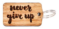 "Брелок ""Never Give Up"" (арт. 646-17)"