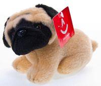 """Мягкая игрушка """"Мопс щенок"""" (12 см)"""