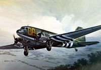 "Военно-транспортный самолет ""C-47 Skytrain"" (масштаб: 1/72)"