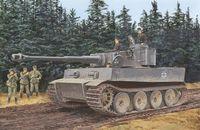 "Тяжелый танк ""Sd.Kfz.181 Tiger I Initial Production s.Pz.Abt.502 Leningard 1942"" (масштаб: 1/72)"