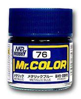 Краска Mr. Color (metallic blue, C76)