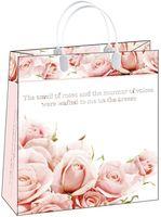 """Пакет пластиковый подарочный """"Flowers"""" (26х23х10 см; арт. BAS 69)"""