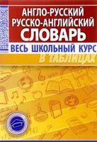 Англо-русский. Русско-английский словарь. Весь школьный курс в таблицах