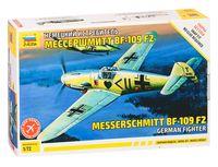 """Сборная модель """"Немецкий истребитель """"Мессершмитт"""" BF-109 F2"""" (масштаб: 1/72)"""