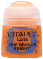 Paint Pots: Fire Dragon Bright 12ml (22-04)