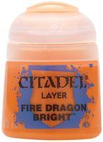 "Краска акриловая ""Citadel Layer"" (fire dragon bright; 12 мл)"