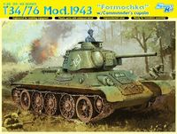 "Средний танк ""T34/76 Mod.1943 Formochka w/Commander`s Cupola"" (масштаб: 1/35)"