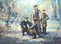 """Набор миниатюр """"Советские партизаны II МВ"""" (масштаб: 1/35)"""