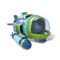 Интерактивная фигурка Skylanders SuperChargers Dive Bomber