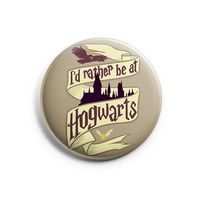 "Значок маленький ""Хогвартс"" (арт. 808)"