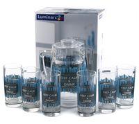 """Набор для питья """"Cool Blue"""" (7 предметов)"""