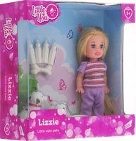 "Кукла ""Лиза со щенками"""