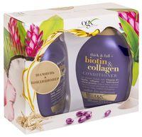 """Подарочный набор """"OGX. Biotin And Collagen"""" (шампунь, кондиционер)"""