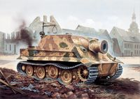 "САУ ""38 cm RW 61 auf Sturmmörser Tiger"" (масштаб: 1/35)"