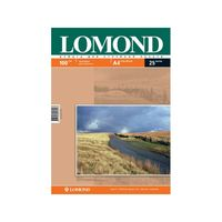 Фотобумага матовая двусторонняя Lomond (25 листов; 100 г/м2; А4)