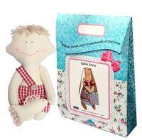 """Подарочный набор для шитья из ткани """"Кукла. Димка"""""""