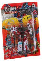 """Робот-трансформер """"Огнеборец. 5 в 1"""""""