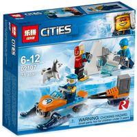 """Конструктор Cities """"Арктическая экспедиция. Полярные исследователи"""""""