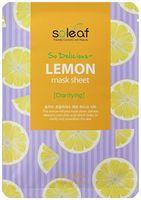 """Тканевая маска для лица """"Тонизирующая. С лимоном"""" (25 мл)"""