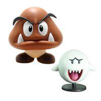 Фигурки Марио Mario Goomba Gumba и Boo Huu (6 см)