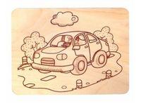 """Набор для выжигания по дереву """"Автомобиль"""""""