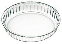 Форма для выпекания стеклянная (280х40 мм)