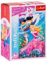 """Пазл mini """"Приключения в мире принцесс"""" (54 элемента)"""