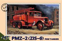 Пожарная машина ПМЗ-2 на базе ЗИС-6 (масштаб: 1/72)