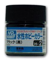 Краска Aqueous Hobby Color водоразбавляемая (black, H-2)